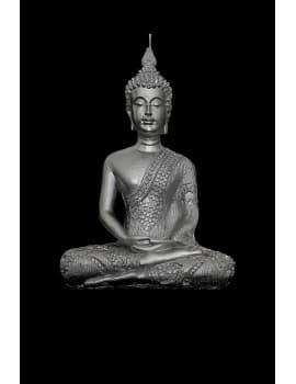 BUDDHA DHYANA HEYKEL MUM